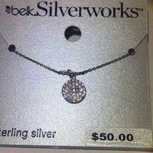 NEW Gorgeous Belk Silverworks Sterling Necklace